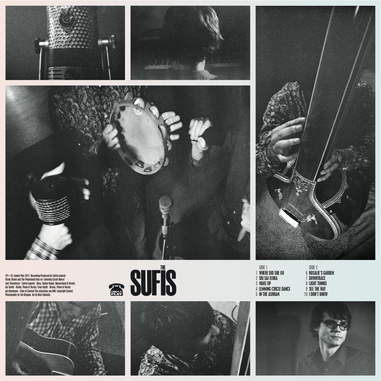The Sufis longplaying album by The SUFIS - on vinyl & MP3 formats